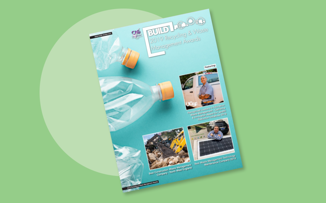 Build magazine names BVWMC best construction waste management organisation
